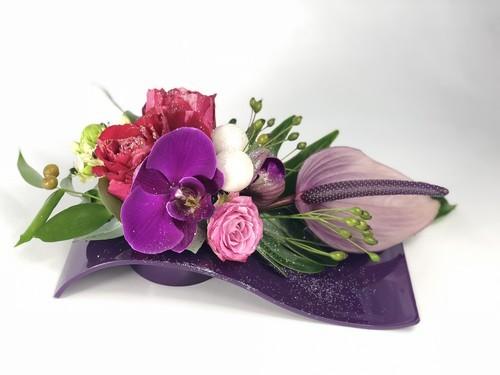 Contenant plastique pour fleuristes